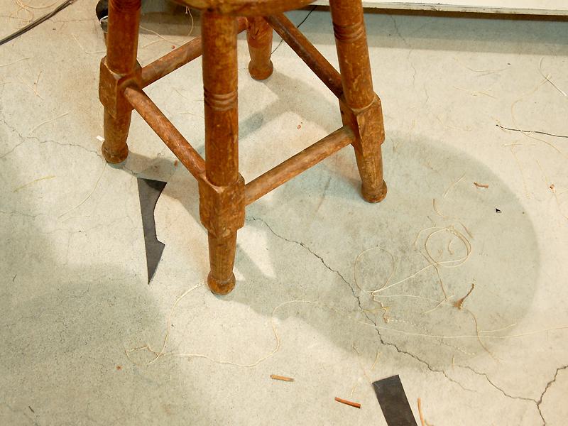 ミシンの椅子