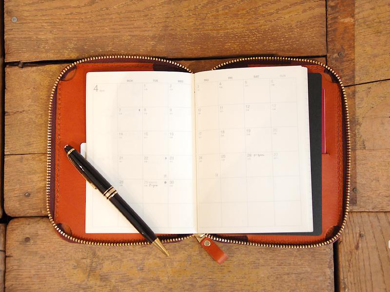 手帳+ペン