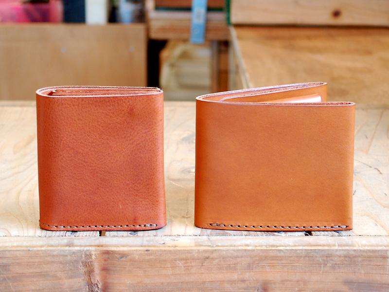 GS-15-Sとサンプル二つ折り財布