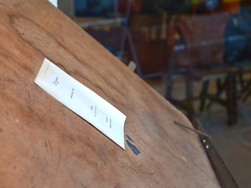 Organ楽譜看板