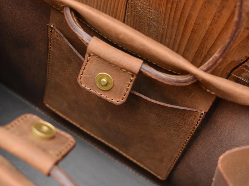 サンプルトートバッグ 内ポケット