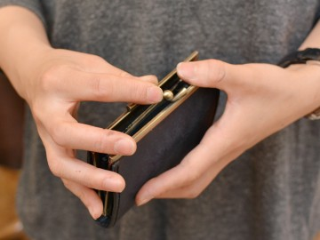 がま口 コンパクト財布 がま口