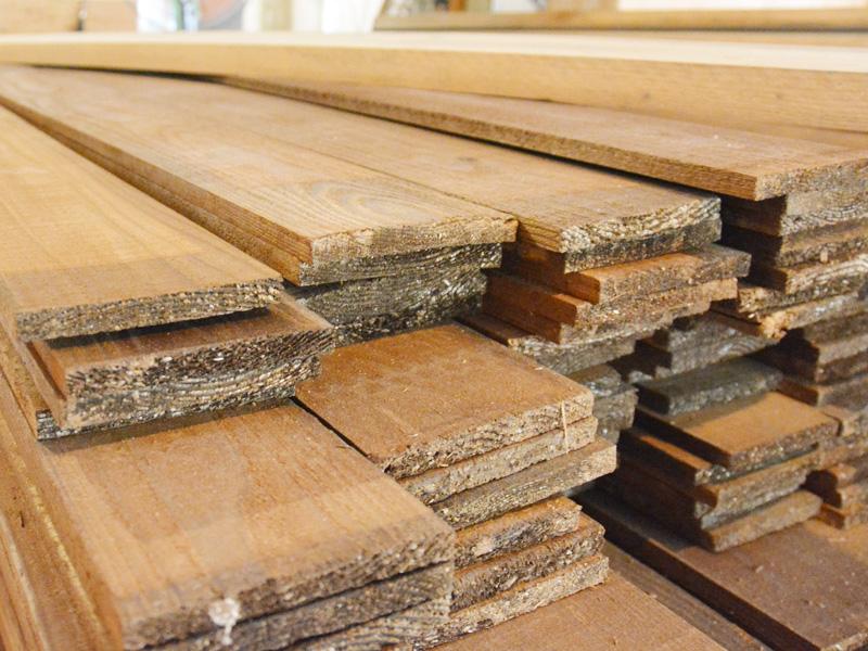 Organ新店舗 木材