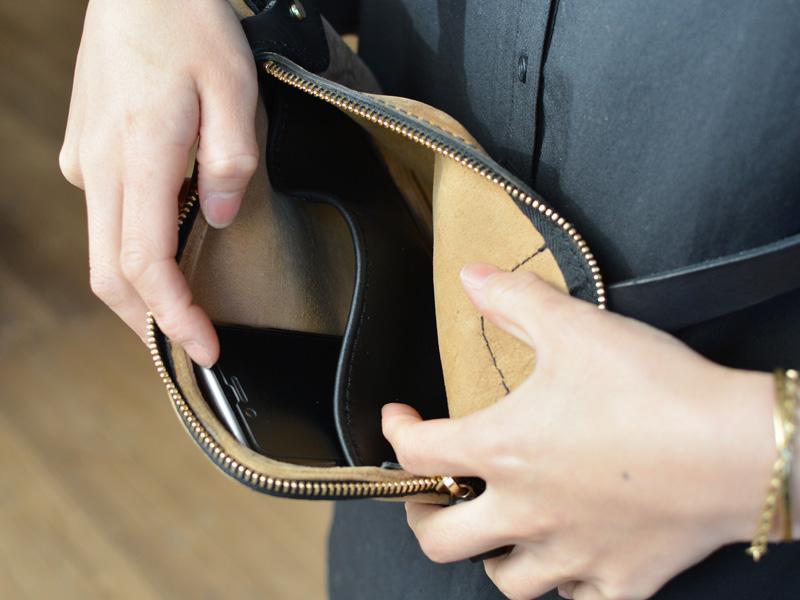 クーズー ポケットバッグ内ポケット