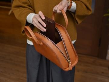 ダコタレザーのハンドバッグ