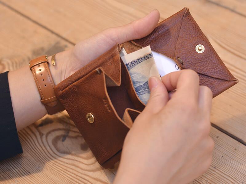 旅モノ財布 お札入れ