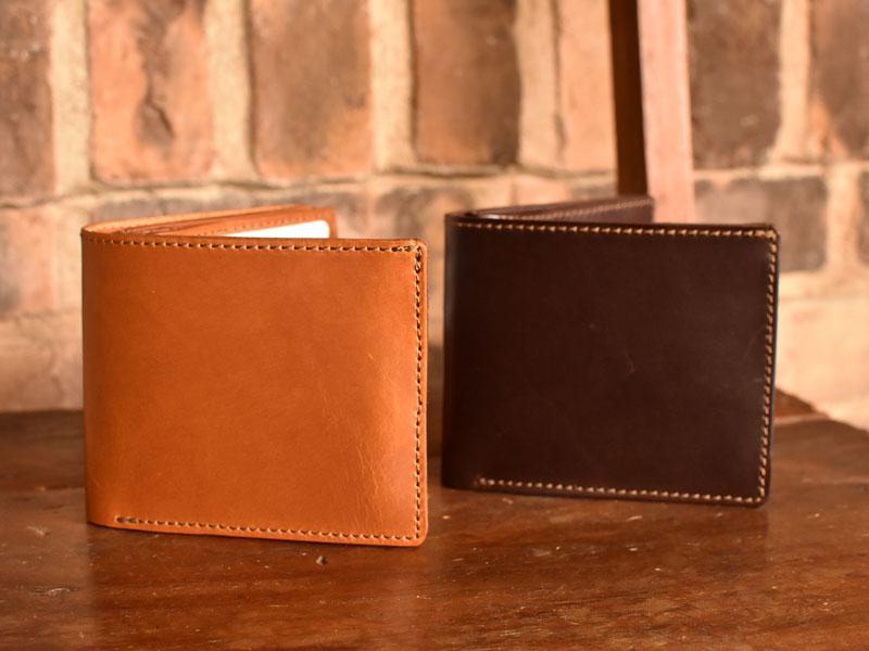 サドルプルアップを使った二つ折り財布