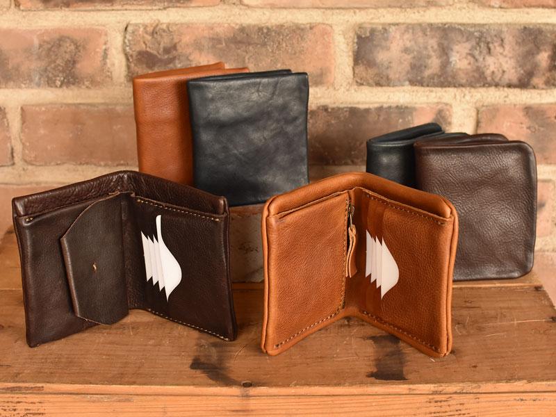 ユーフラテを使ったプレーンな二つ折り財布