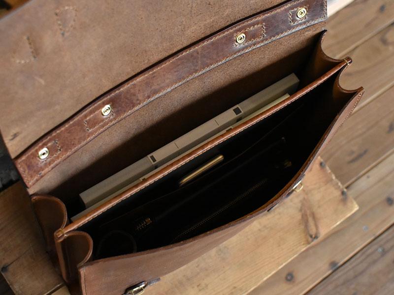 ミッスーリの書類鞄 二部屋