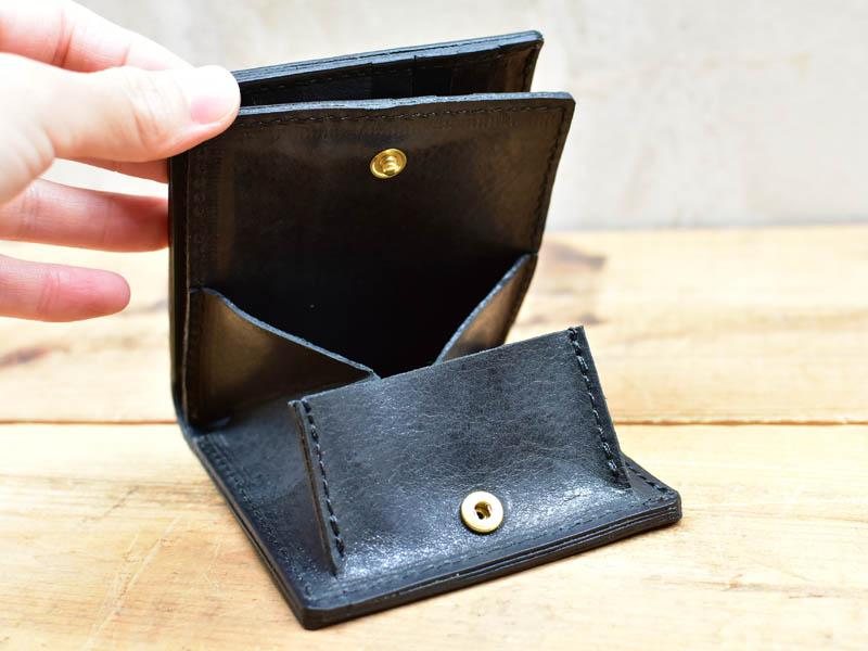 ボックス財布小銭入れ