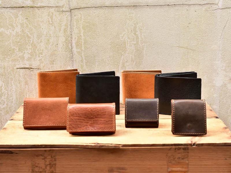 ミッスーリ 2つのタイプのお財布たち