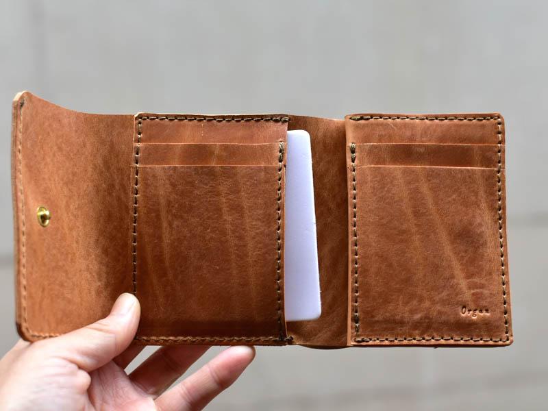 Mカード入れ後ろのポケット