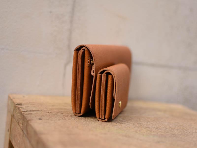 AM財布と小銭入れ 横向き