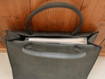 サンプルトートバッグ 縦長 収納