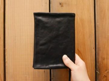 Washブックカバー 黒