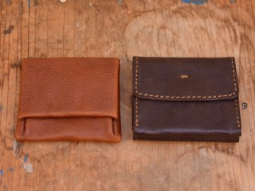 旅モノ財布とGS-44正面
